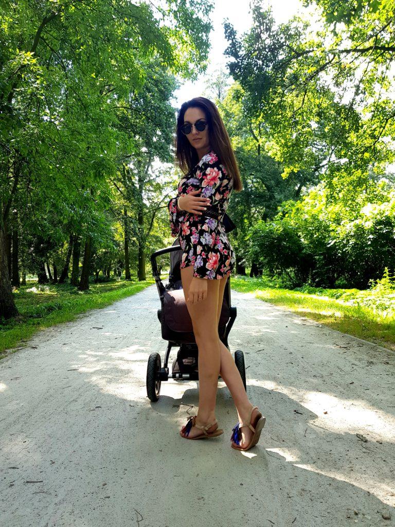 | Niedzielny spacer | 8 tydzień życia Melanii